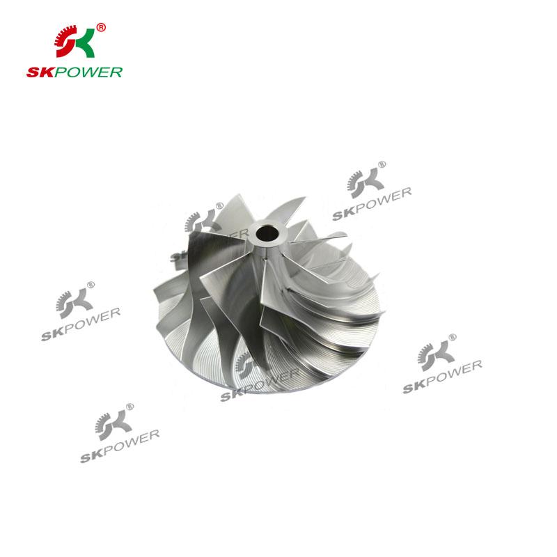 Milling Compressor Wheel